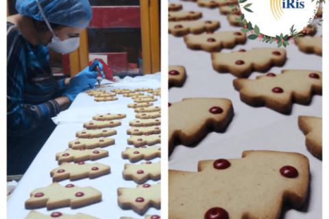 Elaboración de Galletas de Navidad