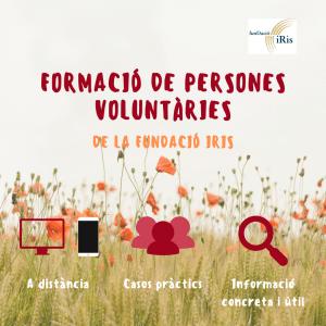 Formación de personas voluntarias