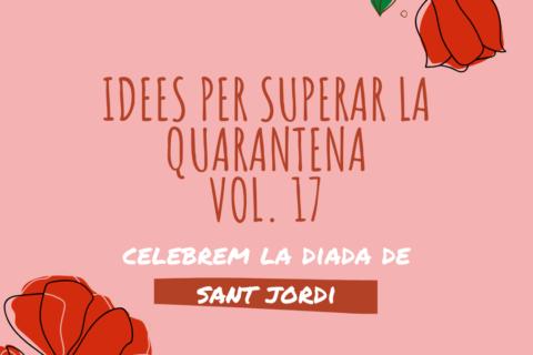 Celebrem San Jordi – QuedARTacasa